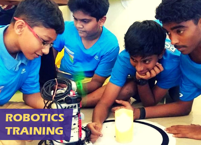 ROBOTICS training for school